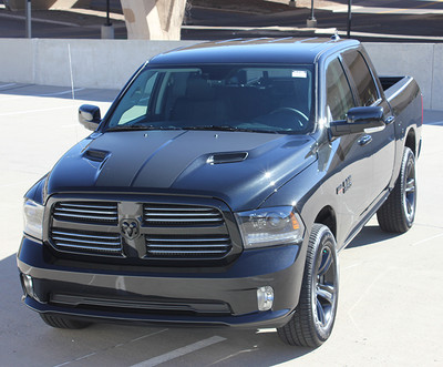 2009-2017 Dodge Ram Hemi Hood Graphic Kit