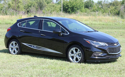 2016-2019 Chevy Cruze Impel Rocker Graphic Kit Side View