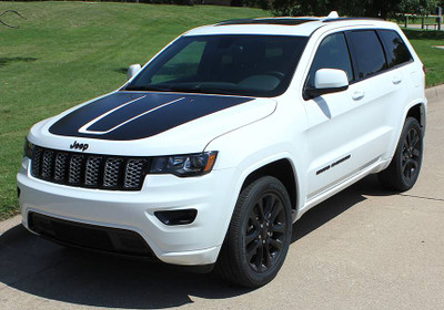 2011-2019 Jeep Grand Cherokee Trail Hood Graphic Kit