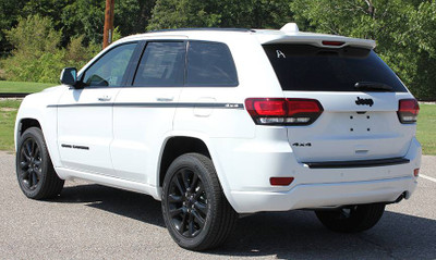 2011-2019 Jeep Grand Cherokee Pathway Side Graphic Kit Rear View