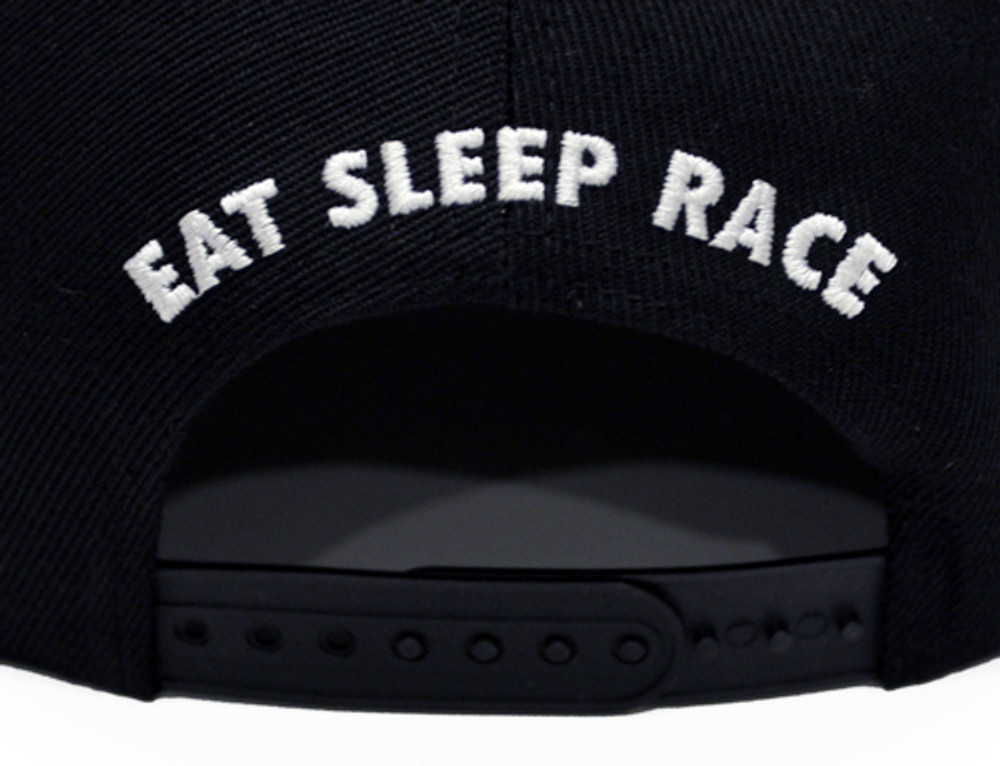 Kids Logo Snapback Hat | Black/Red