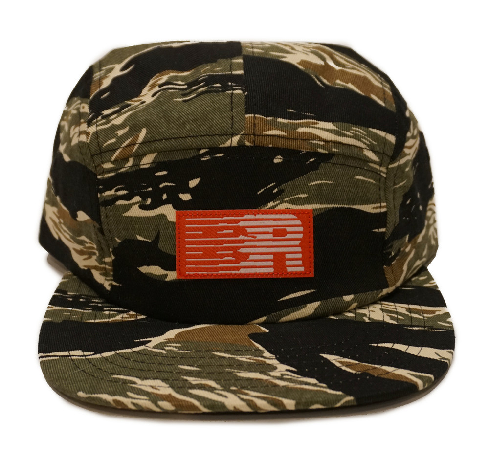 ESR 5-Panel Hat | Tiger Camo