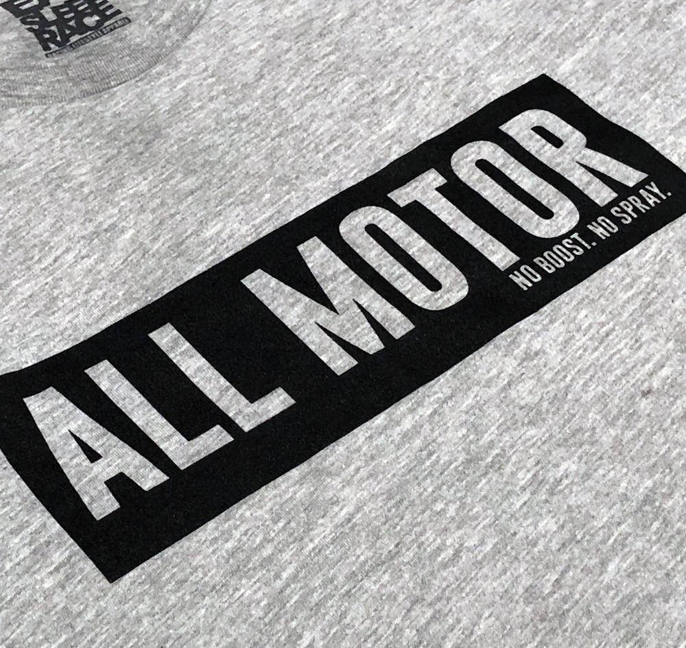 All Motor 7 T-Shirt   Grey