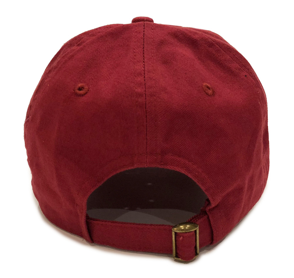 Knuckle Wrench Sport Strapback Hat | Cardinal Red