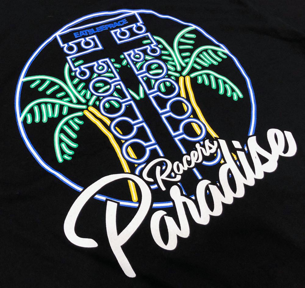 Racer's Paradise Lightweight T-Shirt | Black
