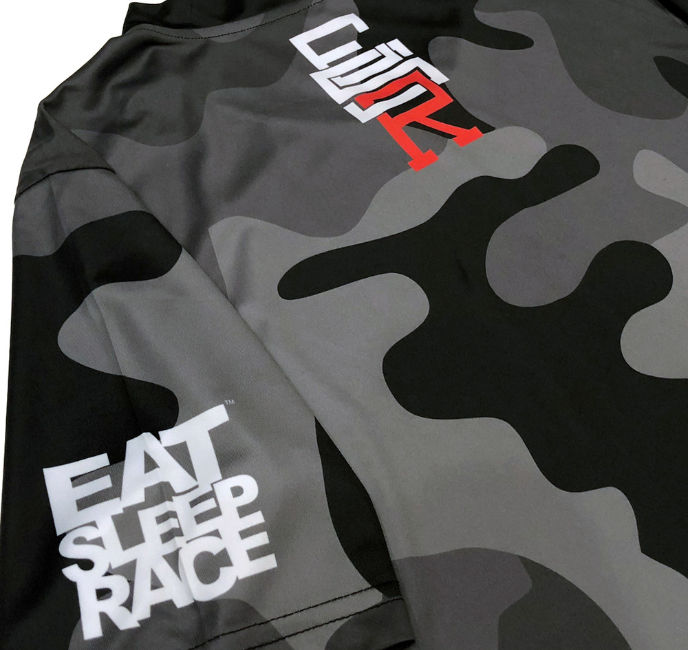 ESR Performance Racer Shirt | Black Camo