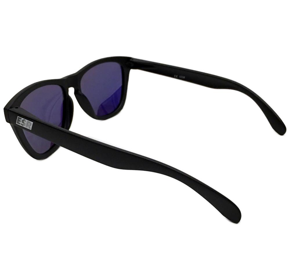 ESR Speed Line Sunglasses | Matte Black/Blue Iridium (Polarized) | Hard Case