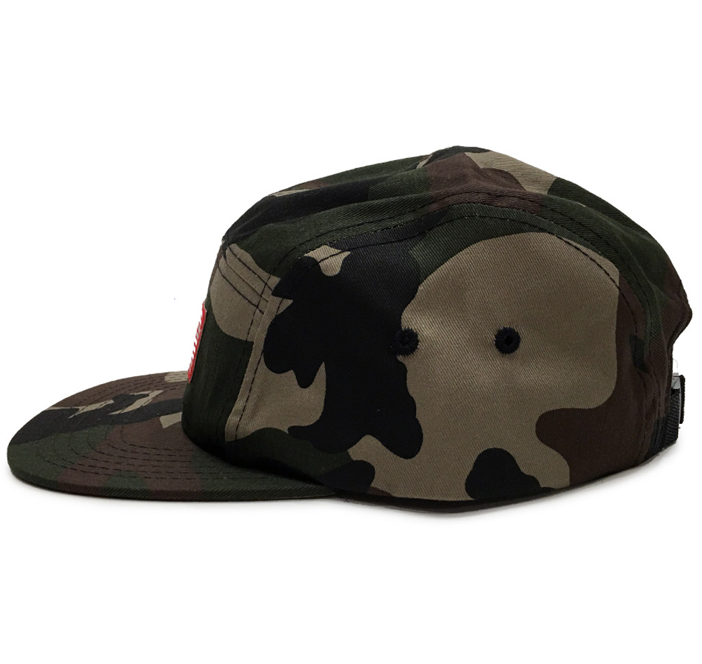 ESR 5-Panel Hat | Woodland Camo