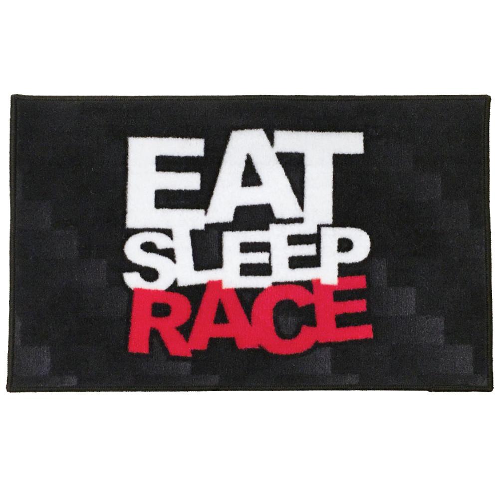Logo Door Mat | Black/Red ...