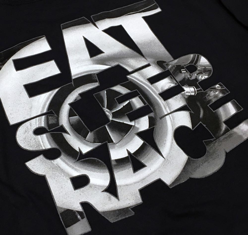 Turbo Speedlines Long Sleeve Shirt   Black