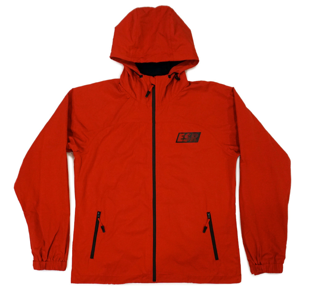 Grand Prix Windbreaker Jacket | Red