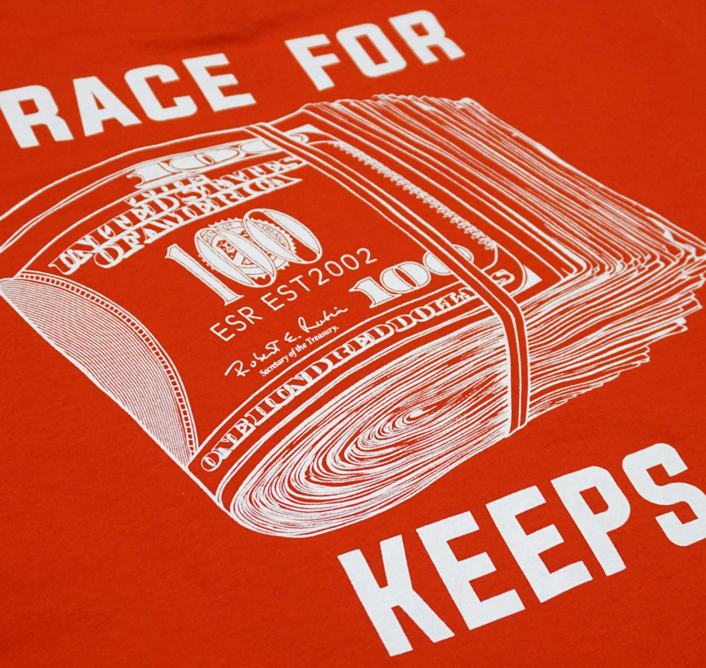 Race For Keeps Pocket T-Shirt | Red
