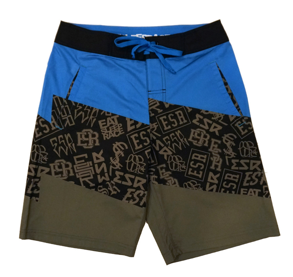 Board Shorts | ESR Bolt Pattern Blue