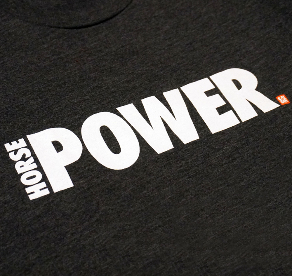 Horsepower 2 Lightweight T-Shirt | Charcoal
