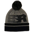 Speedlines Pom Beanie | Grey/Black