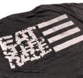ESR Horizontal Flag Lightweight T-Shirt | Ash