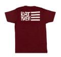 ESR Horizontal Flag Lightweight T-Shirt | Plum