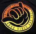 Good Vibes Lightweight T-Shirt | Black