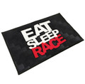 Logo Door Mat | Black/Red
