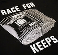 Race For Keeps Pocket T-Shirt | Black