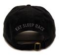 Script Sport Strapback Hat | Black/Red