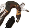 Multi Functional Tool Carabiner | Distressed Camo