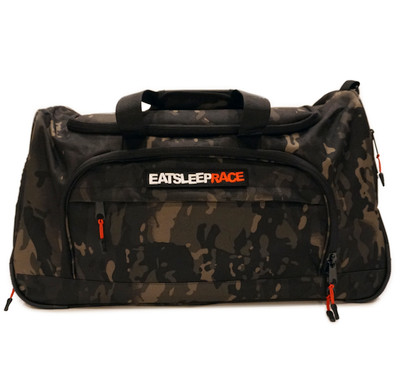 Tactical Duffel Bag | Black Camo