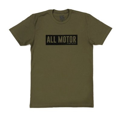 All Motor 7 T-Shirt | Olive