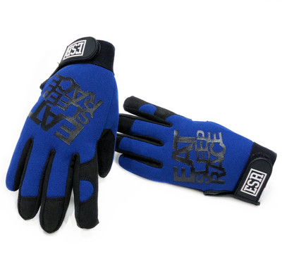 Mechanics Gloves Logo | Blue