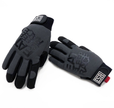 Mechanics Gloves Logo | Grey