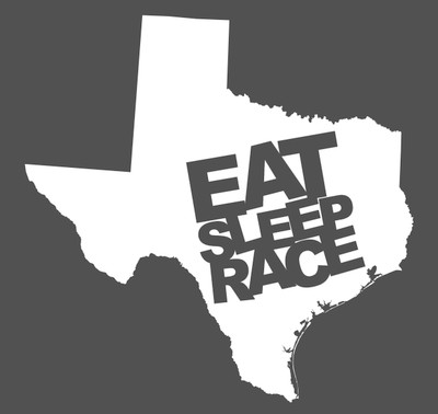 Texas State Decal | White