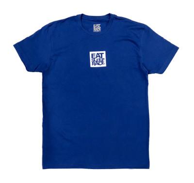 Logo Square T-Shirt | Blue