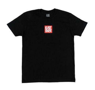Logo Square T-Shirt | Black/Red
