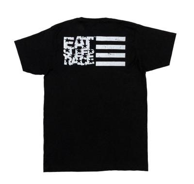ESR Horizontal Flag Lightweight T-Shirt | Black