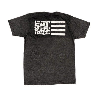 ESR Horizontal Flag Lightweight T-Shirt | Charcoal