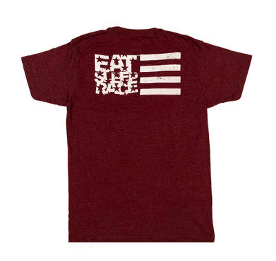 ESR Horizontal Flag Lightweight T-Shirt | Plum