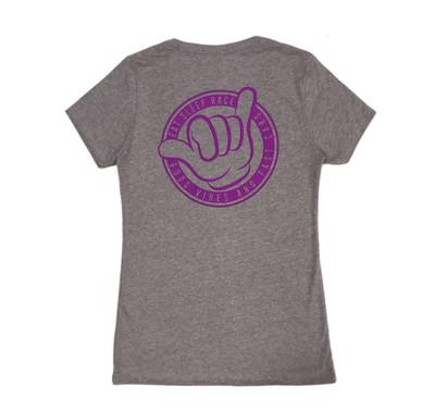 Ladies Shaka V Neck Shirt