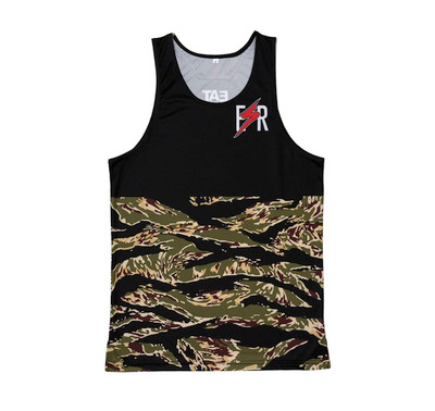 ESR Performance Tank Top | Tiger Camo