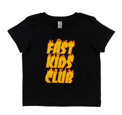 Fast Kids Club Inferno T-Shirt | Black