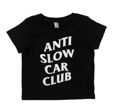 Kids Anti Slow T-Shirt | Black