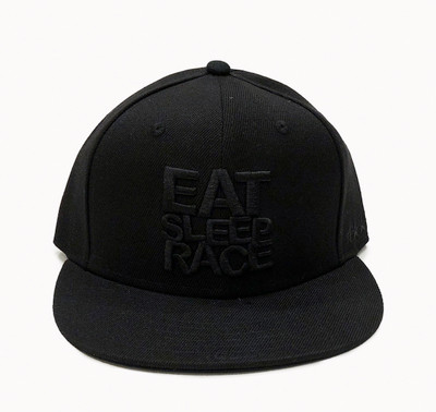 Logo Team Fitted Hat | Black