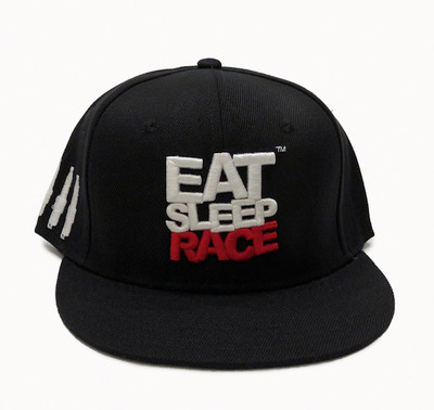 Logo Team Snapback Hat | Black/Red (OG)