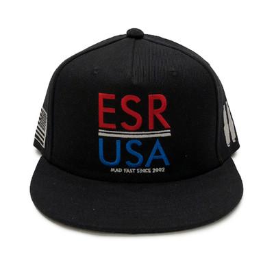 ESR USA Snapback Hat | Red/White/Blue