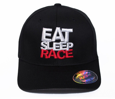 Logo Team Flexfit Hat   Black