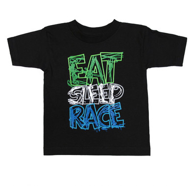 Kids Scribble T-Shirt | Black