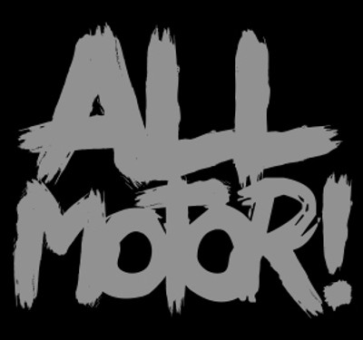 All Motor Vinyl Decal | Silver
