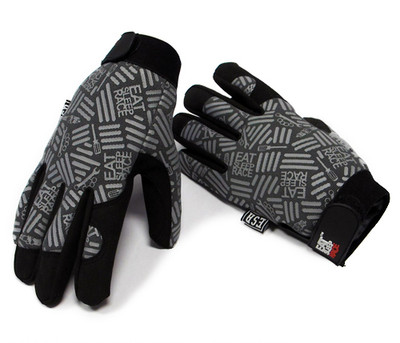 Mechanics Gloves Pattern | Grey/Black