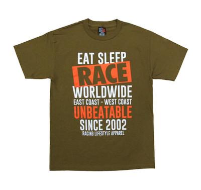 Box Crew T-Shirt | Olive