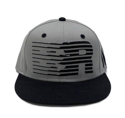 ESR Speedlines Snapback Hat | Grey/Black