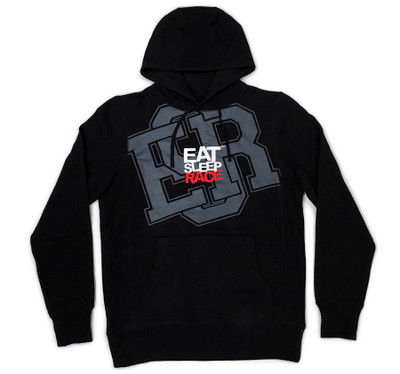 Pull Over Hoodie ESR Huge | Black